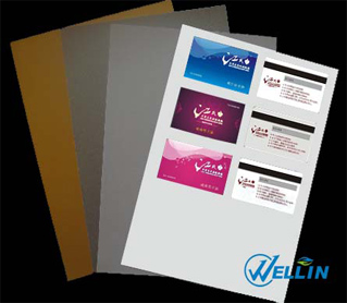 picture regarding Printable Plastic Sheets known as Inkjet Printable PVC Sheet